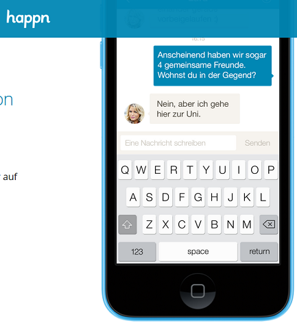 Dating mit happn